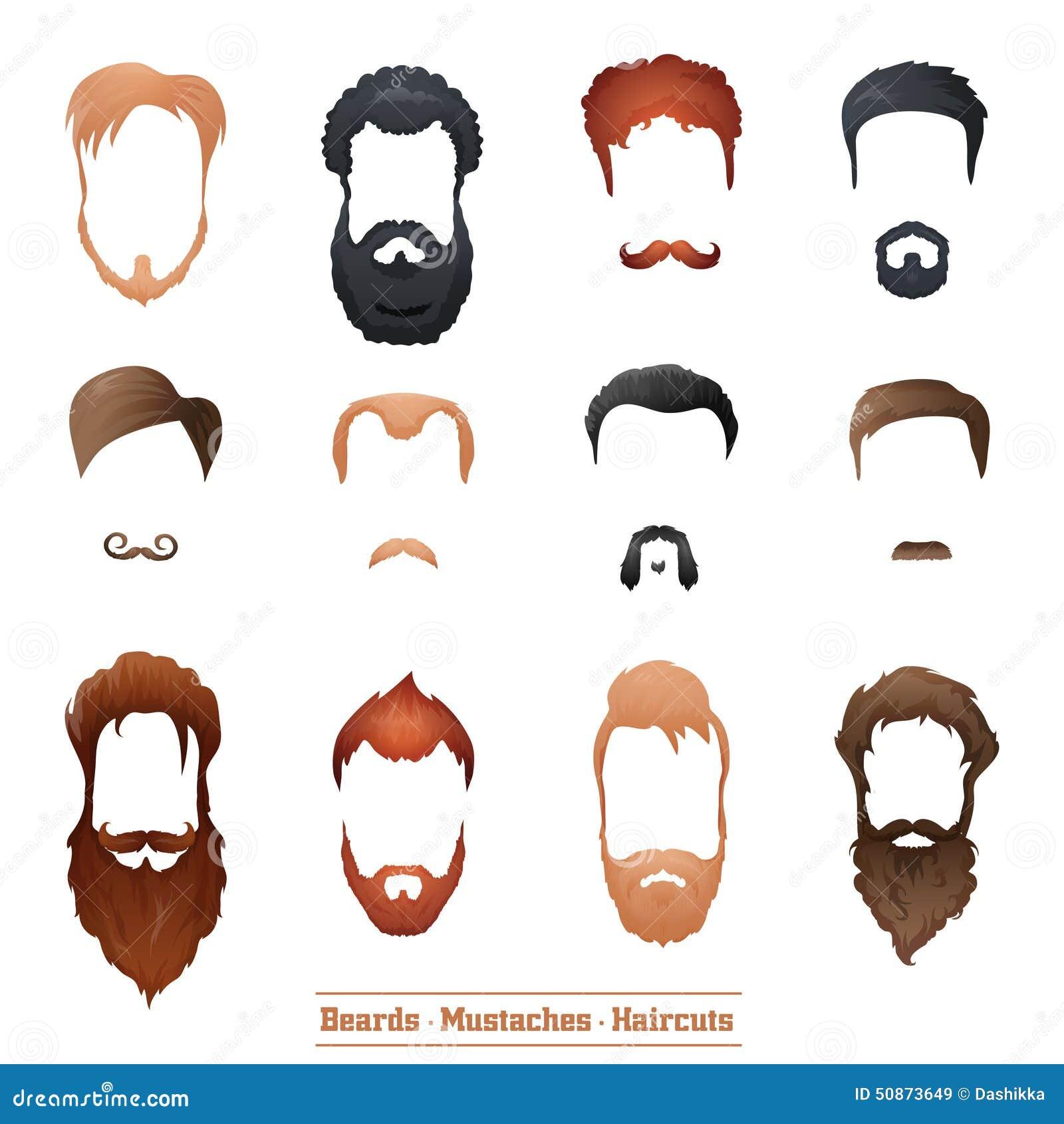 Подобрать прическу с бородой