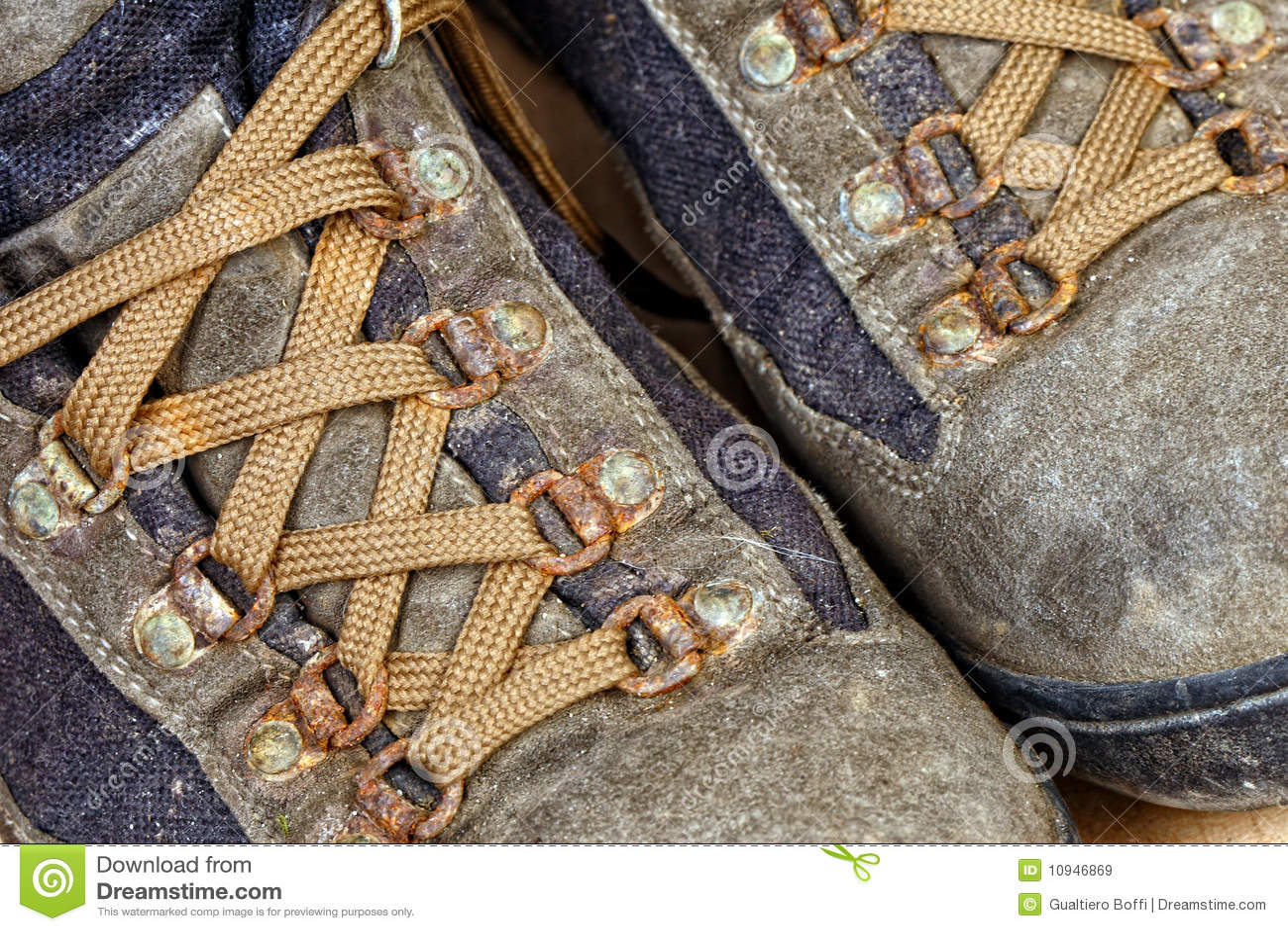 ботинки детали trekking