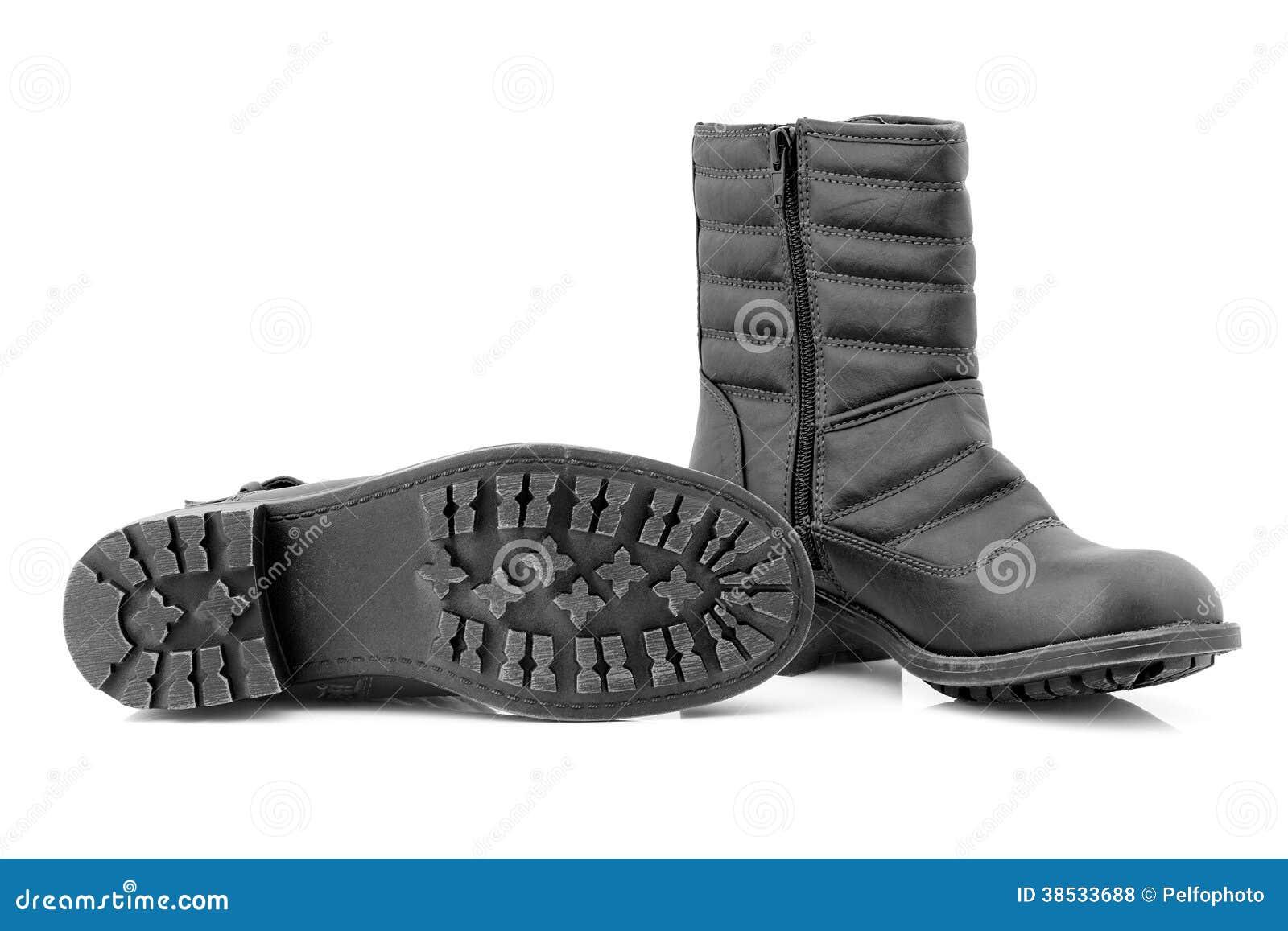 Ботинки женщин на холодные дни.