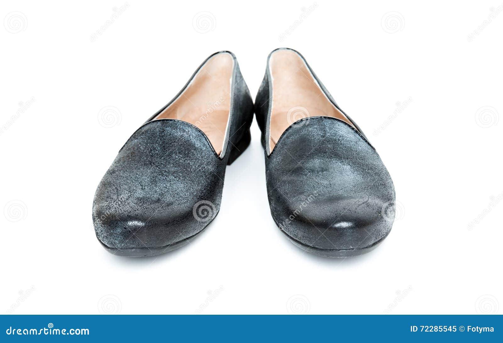 Download ботинки изолированные чернотой Стоковое Изображение - изображение насчитывающей серебр, обувь: 72285545