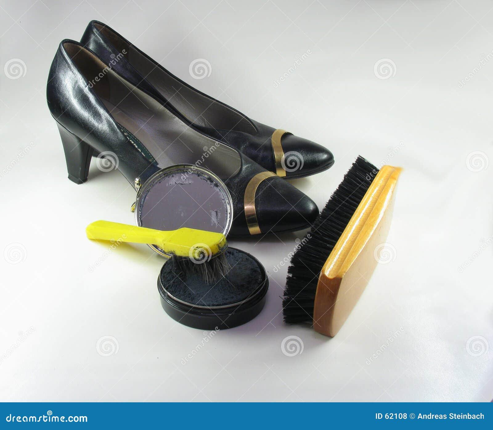ботинки чистки
