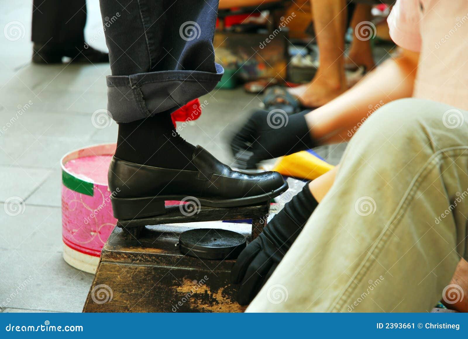 ботинок shine
