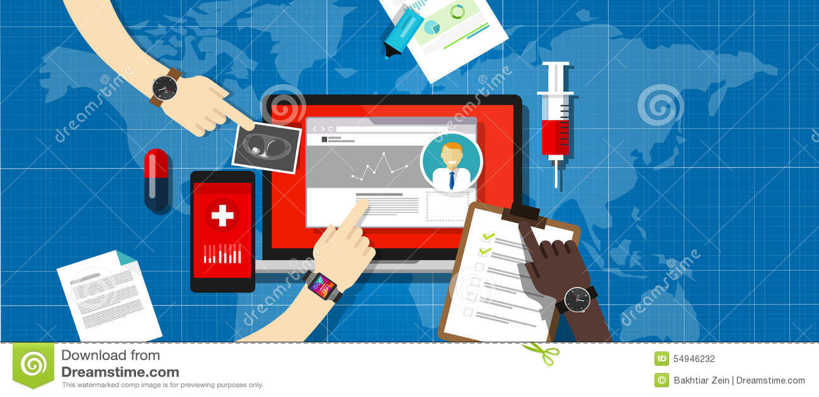 Больница информационной системы медицинской истории здоровья