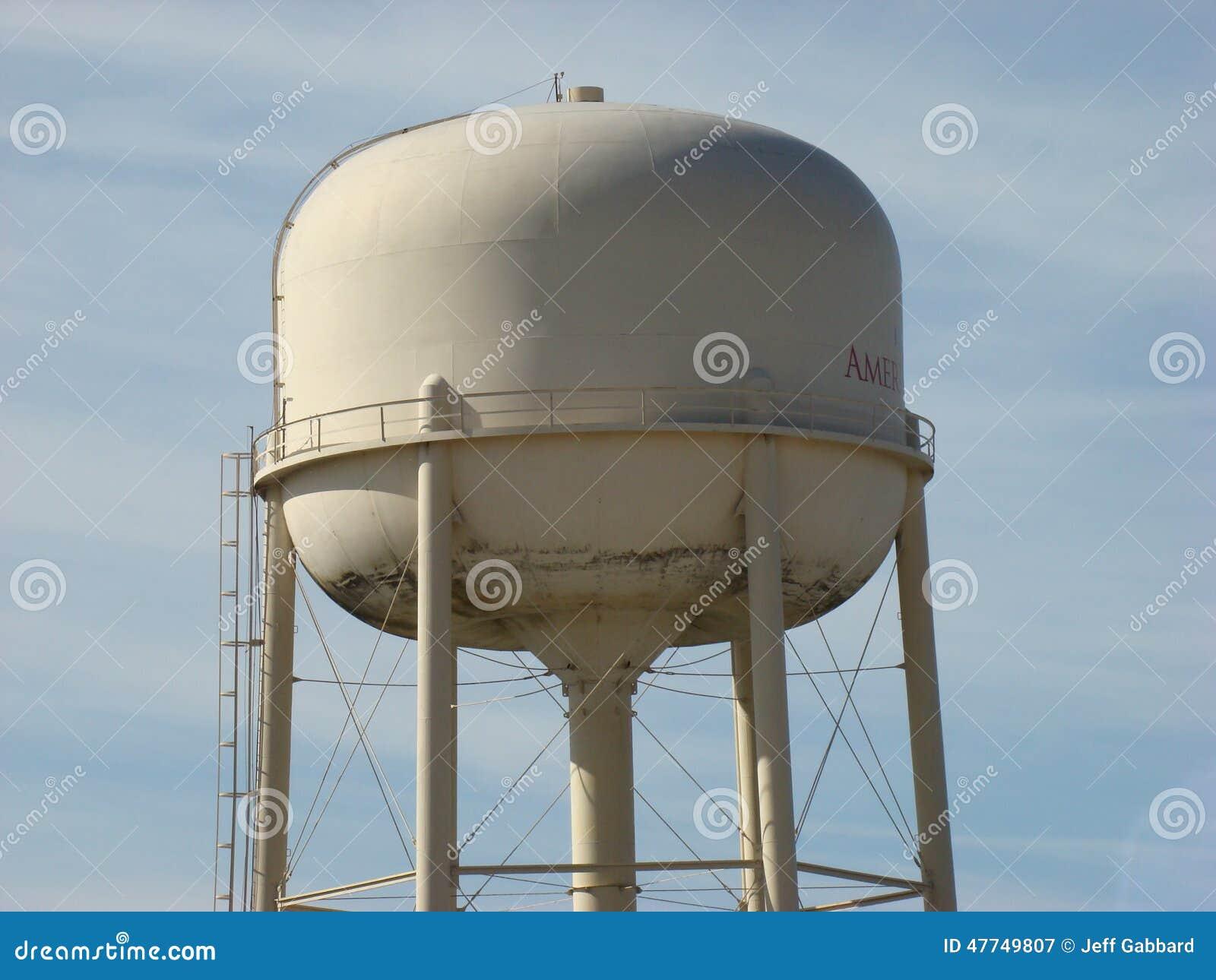 Большая башня воды