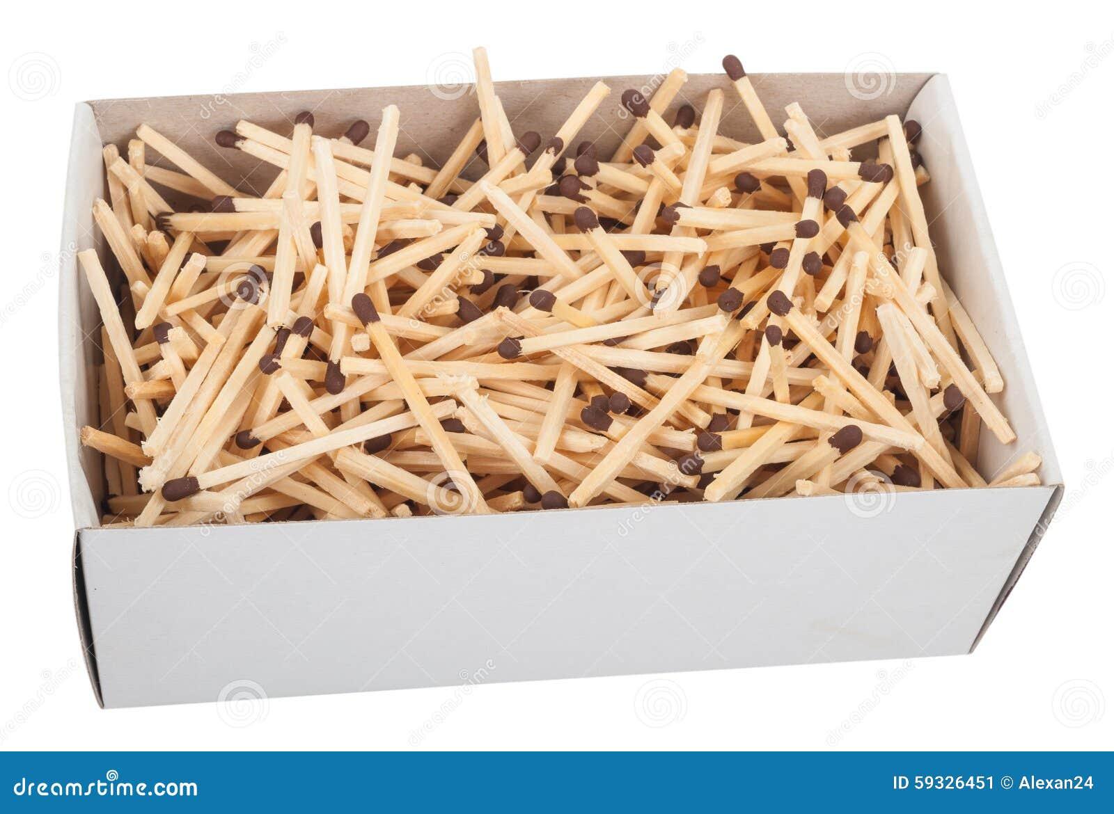Большая коробка спичек