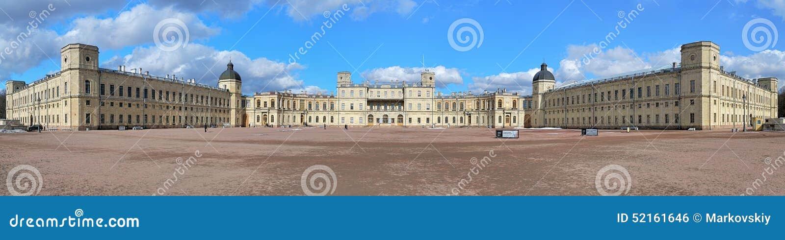 Большая панорама большого дворца Gatchina, Россия