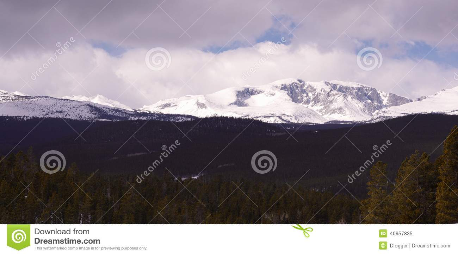 Большие горы рожка, Вайоминг
