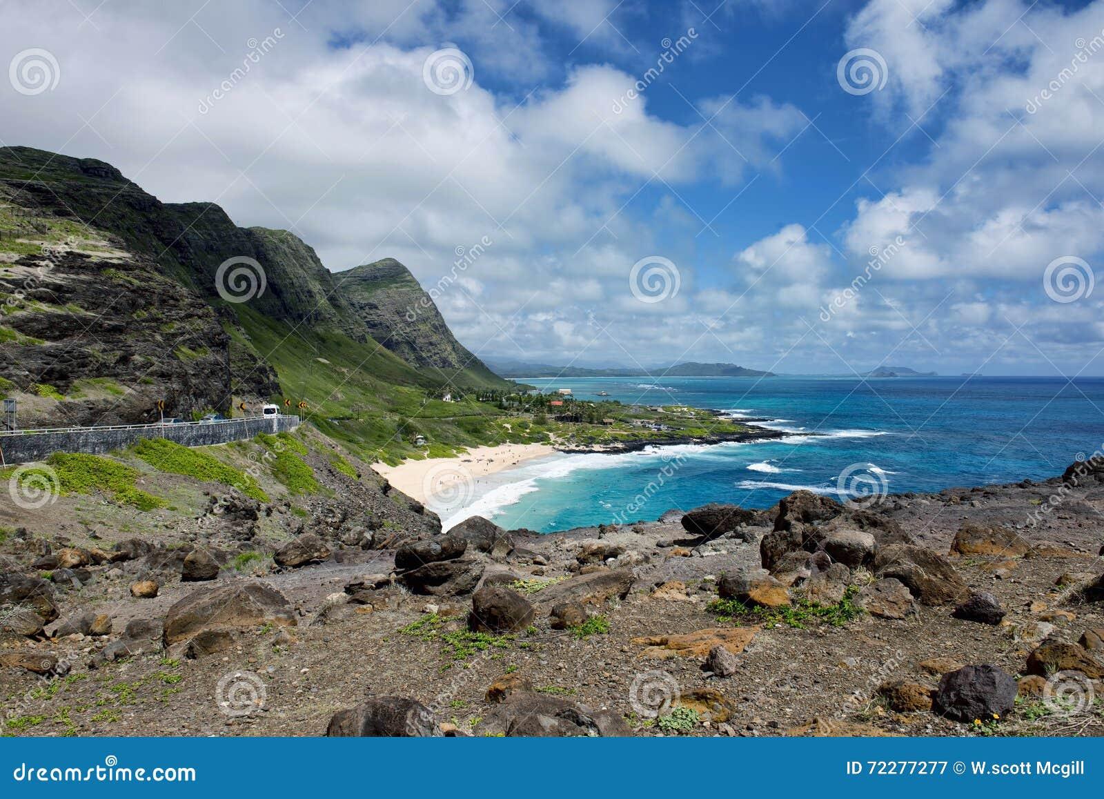 Download Большие голубые Гаваи стоковое изображение. изображение насчитывающей экзотическо - 72277277