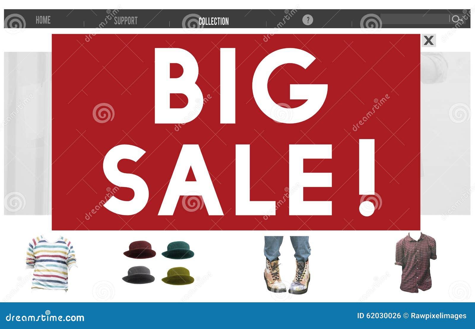 Большие продажи рекламируя концепцию продвижения скидки сезонную