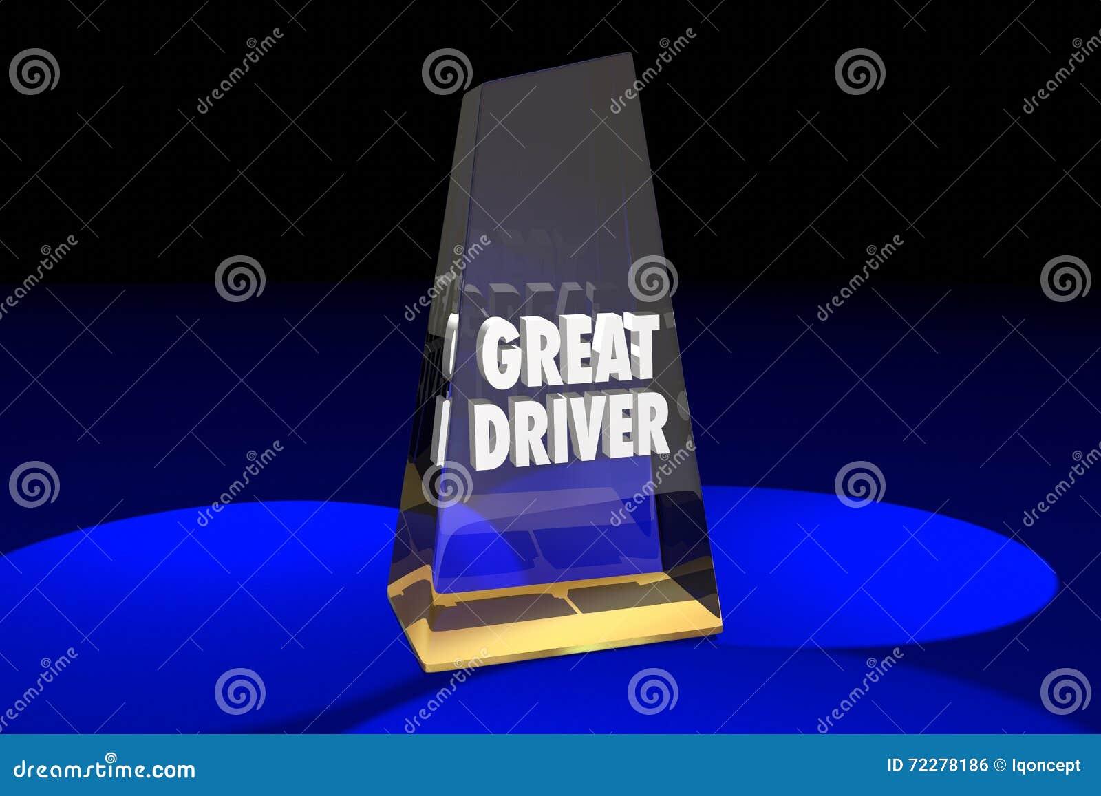 Download Большой водитель управляя словами награды безопасности Иллюстрация штока - иллюстрации насчитывающей опознавание, проиллюстрировано: 72278186