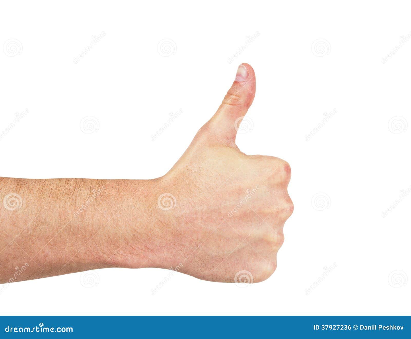 Большой палец руки вверх