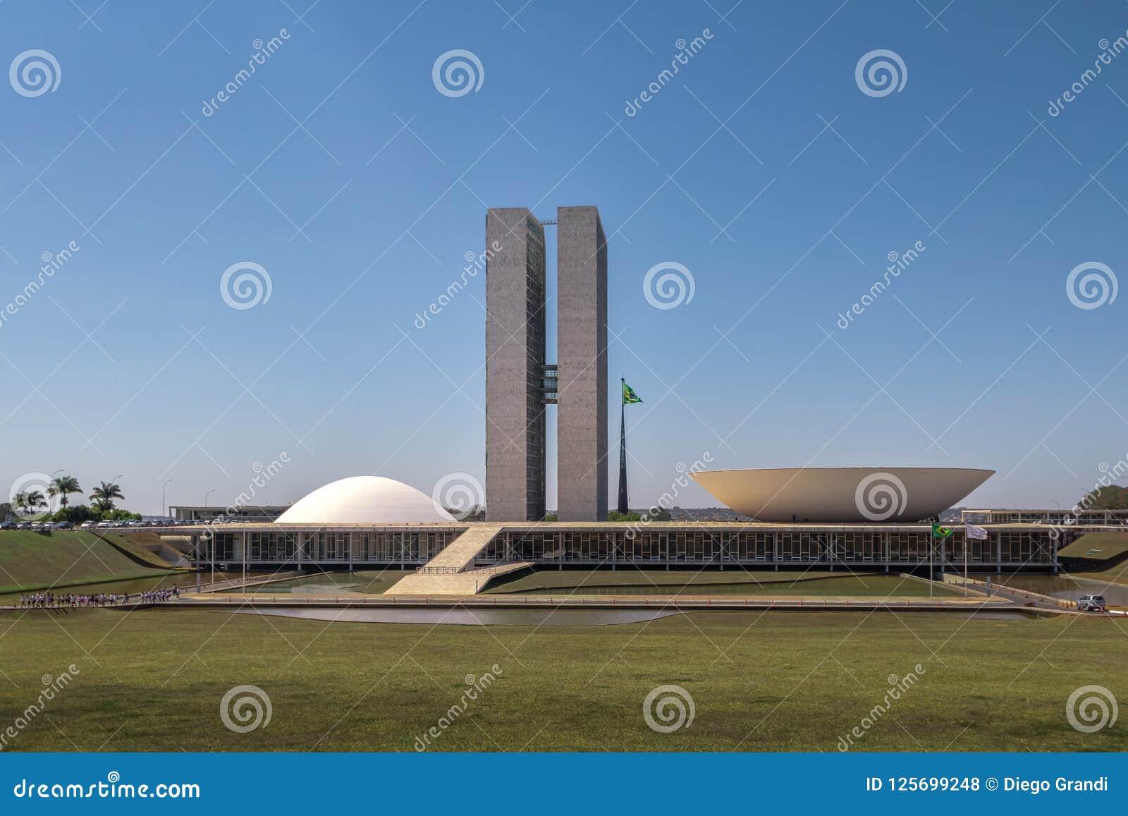 Бразильский национальный конгресс - Brasilia, Distrito федеральное, Бразилия