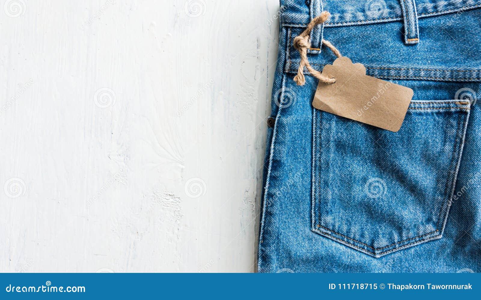 Брюки джинсов джинсовой ткани