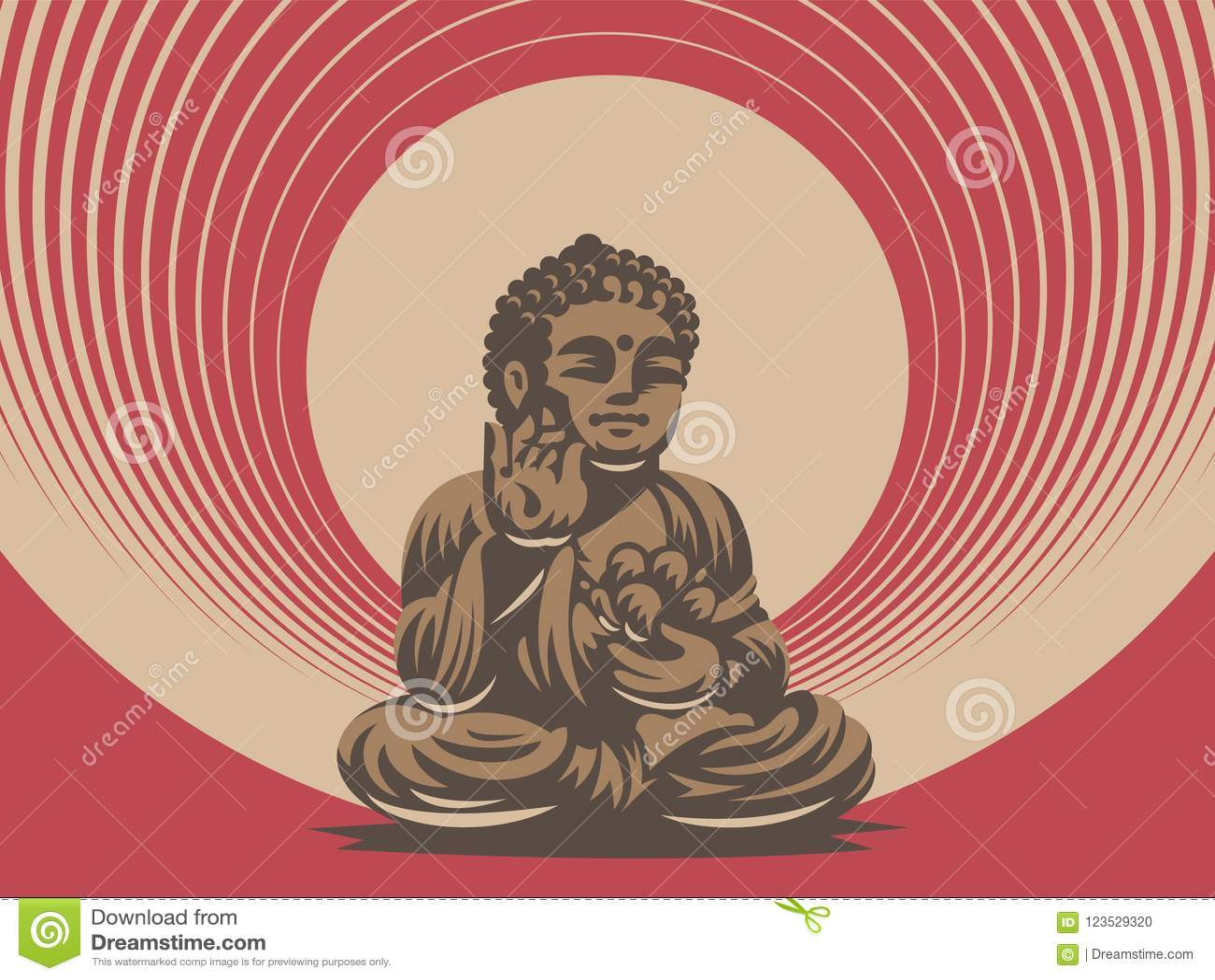 Будда белизна вектора 8 эмблем изолированная eps