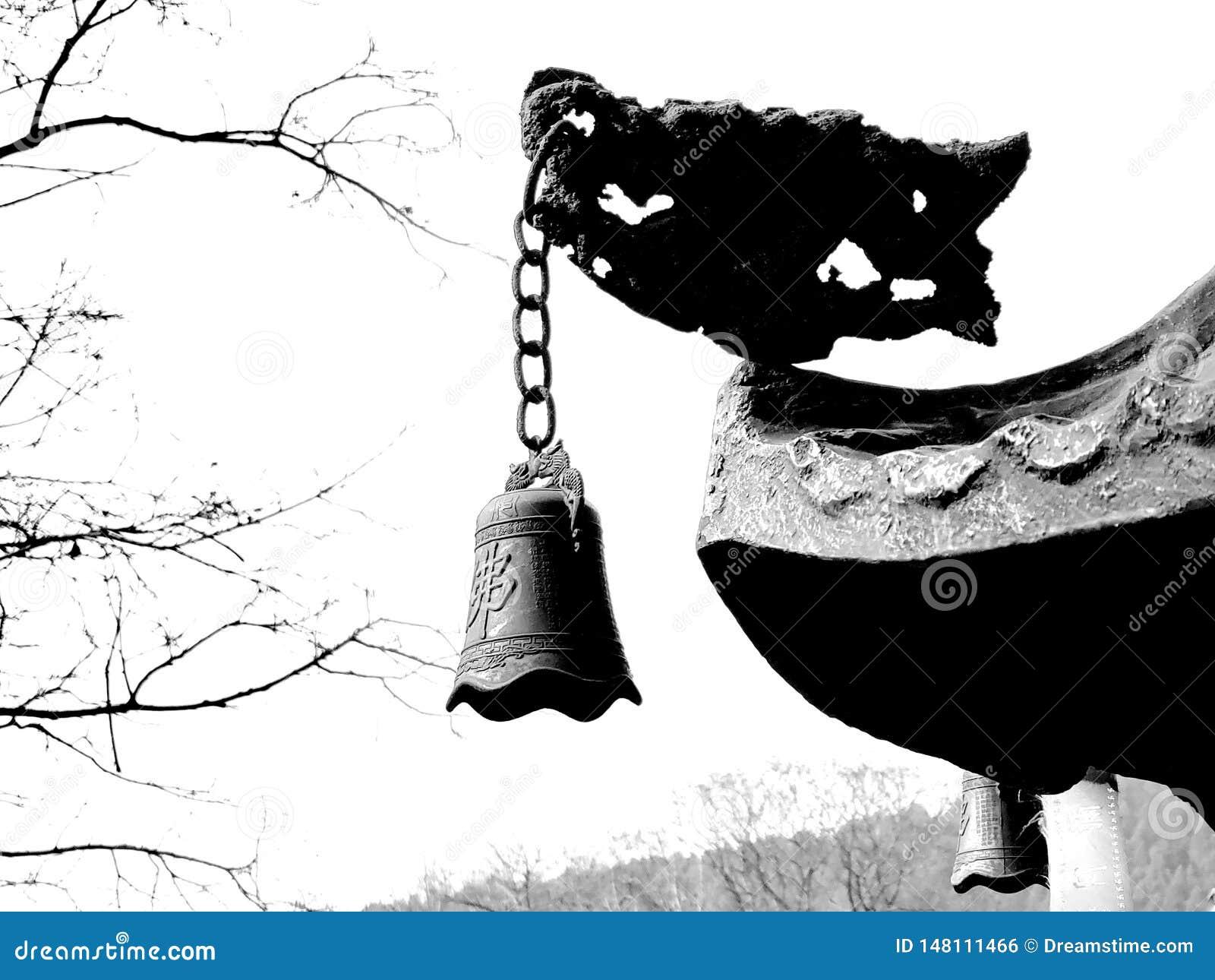Буддийские колоколы в китайских висках