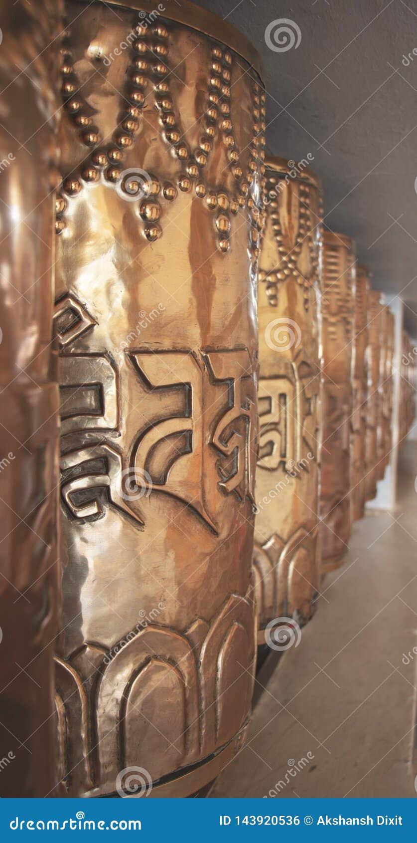 Буддийские моля колеса