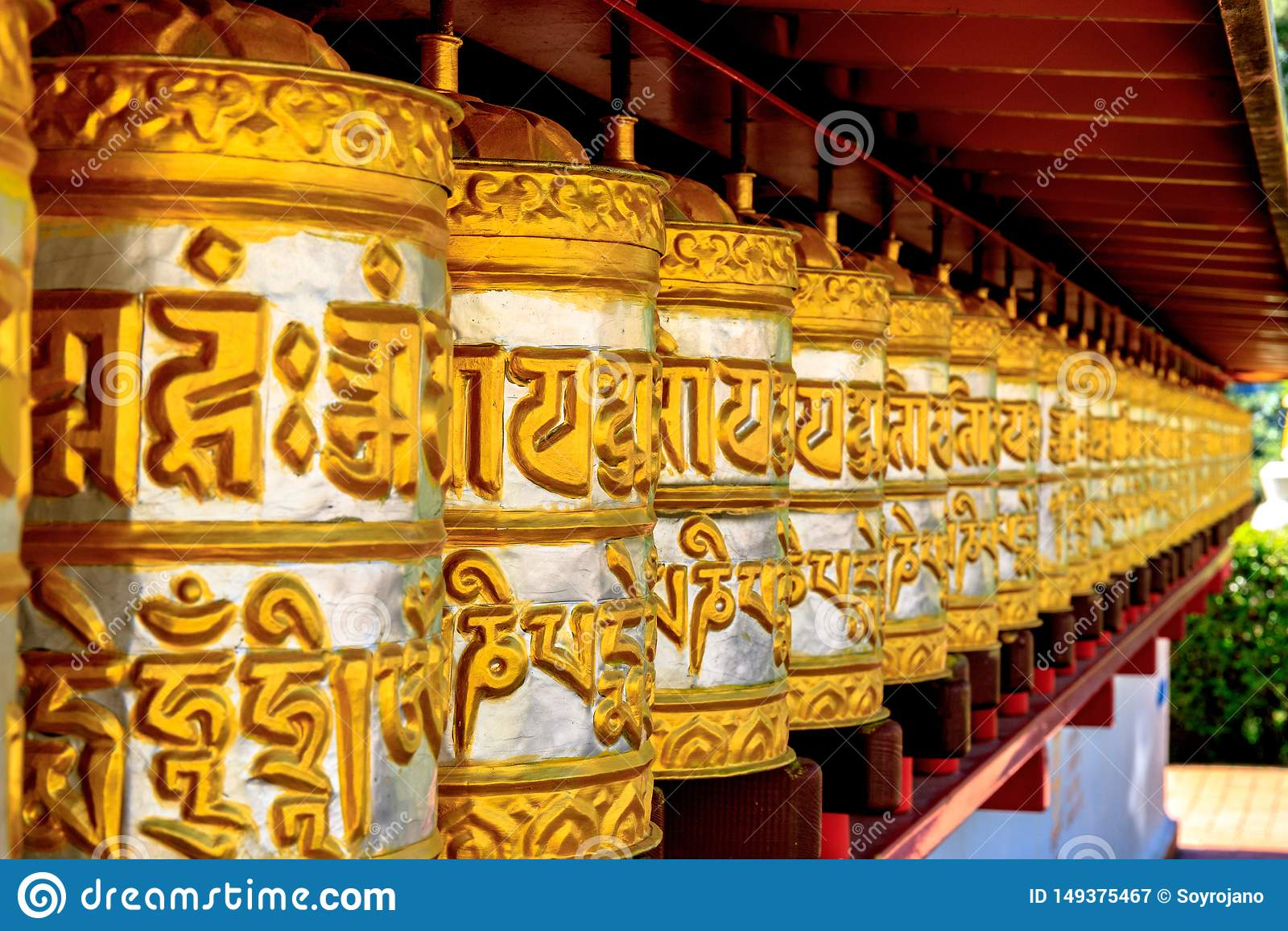 Буддийский висок Dag Shang KagyuDag