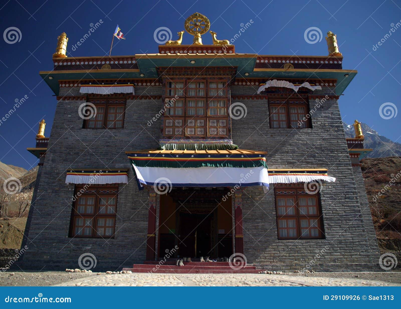 Буддийский скит в Непале