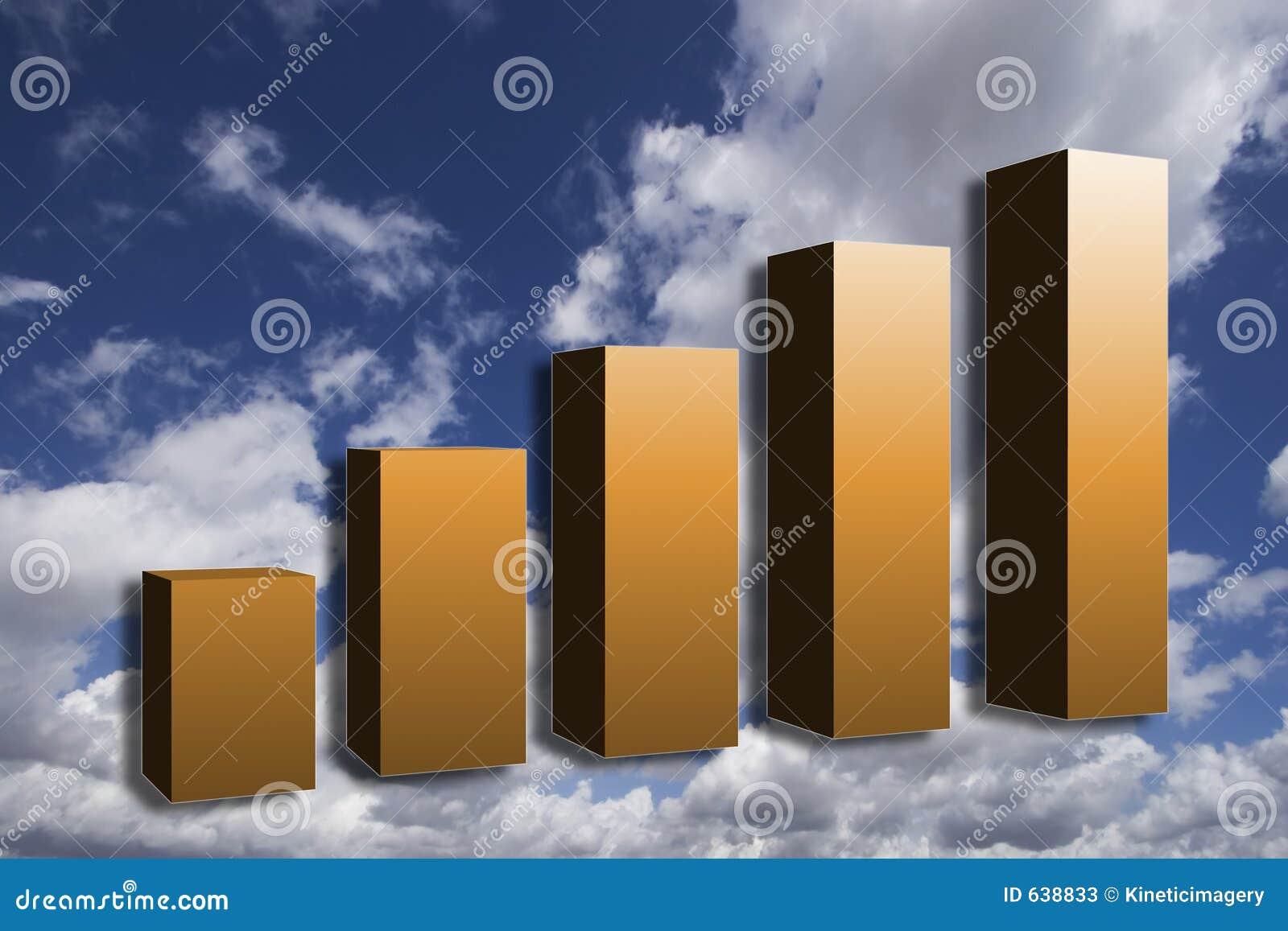 Download будущий рост иллюстрация штока. иллюстрации насчитывающей финансы - 638833