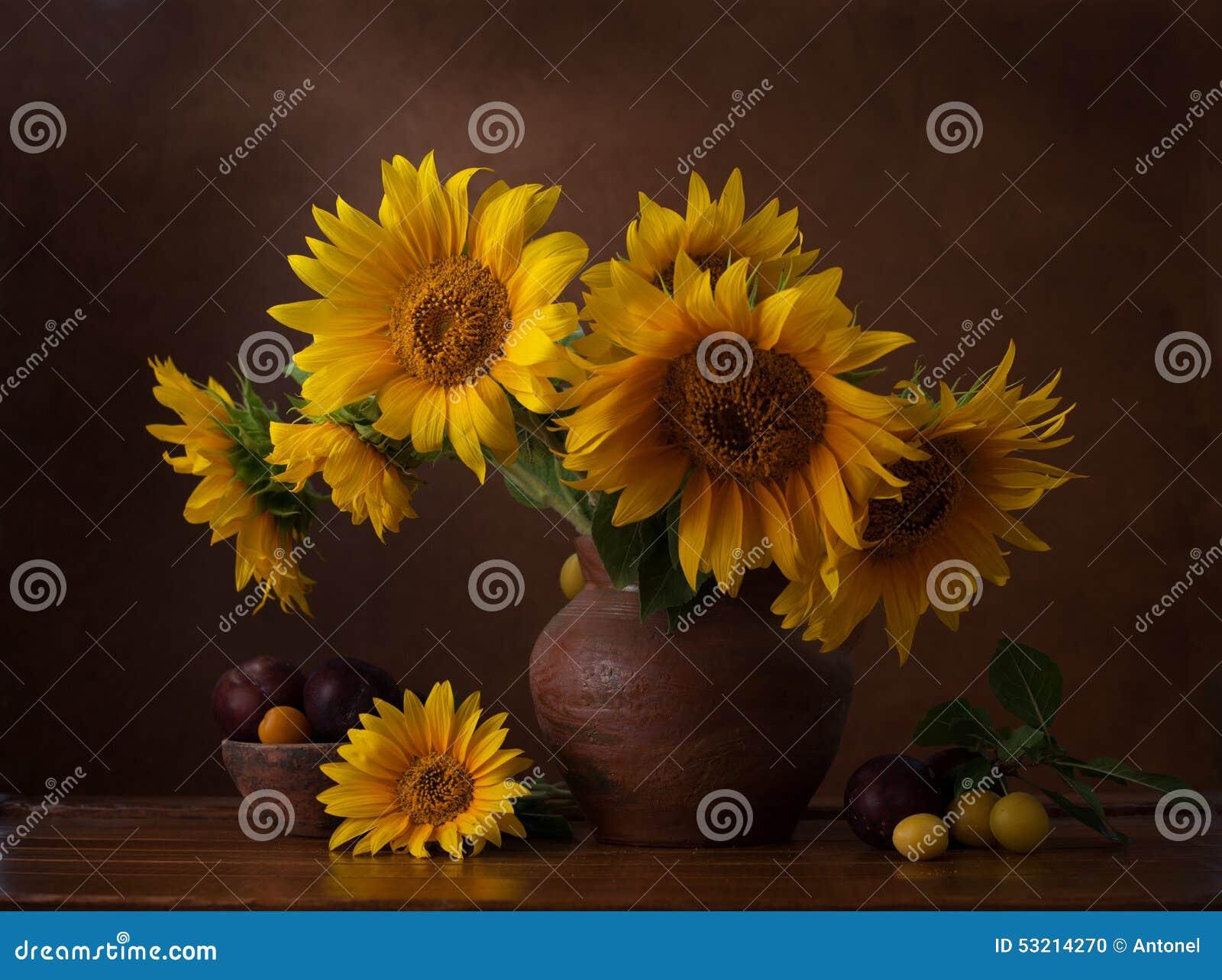 Букет солнцецветов