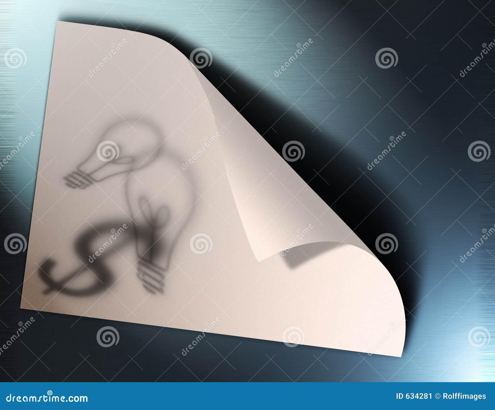 Download бумага идей иллюстрация штока. иллюстрации насчитывающей воображение - 634281