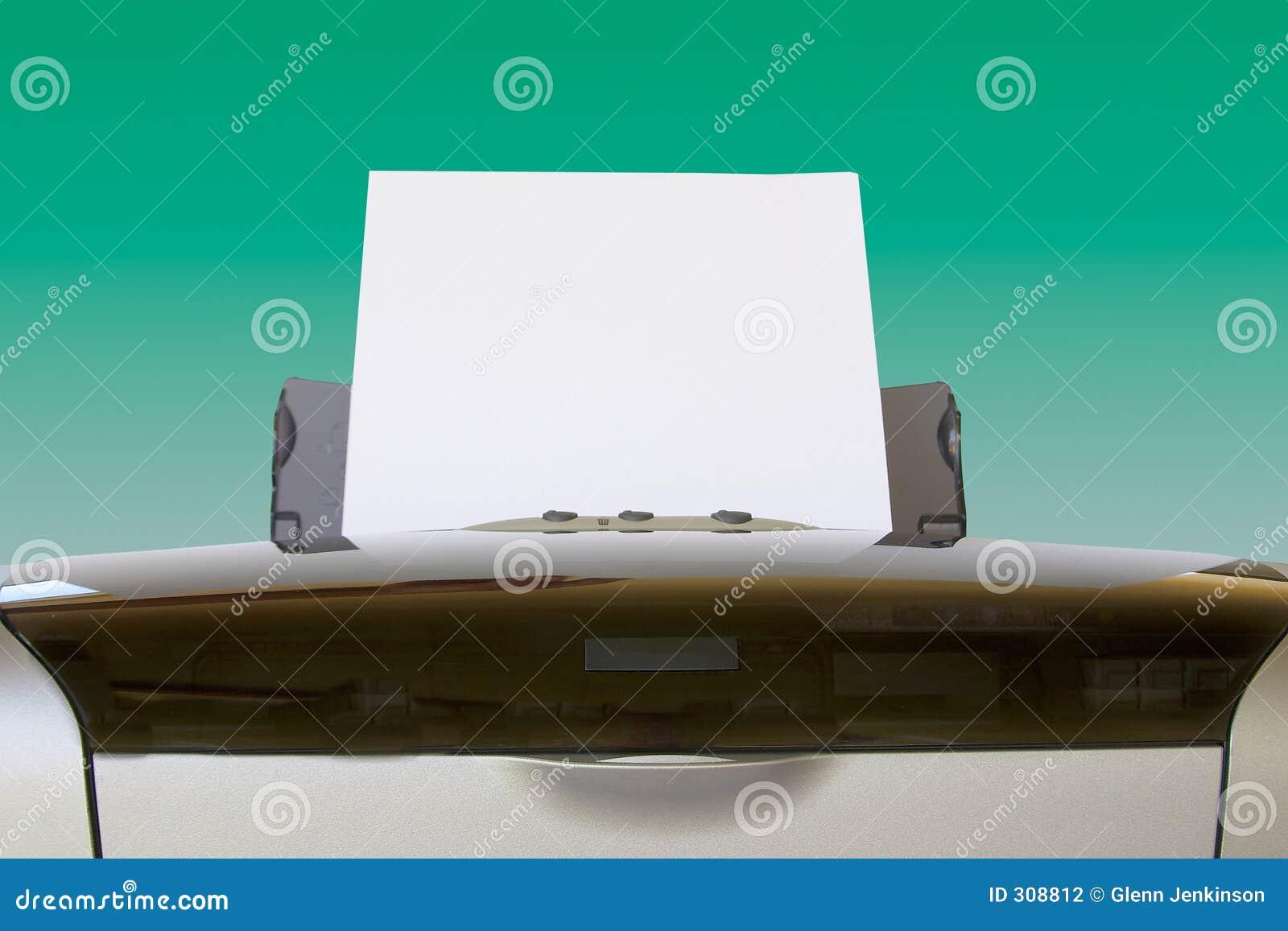 бумага питания горизонтальная