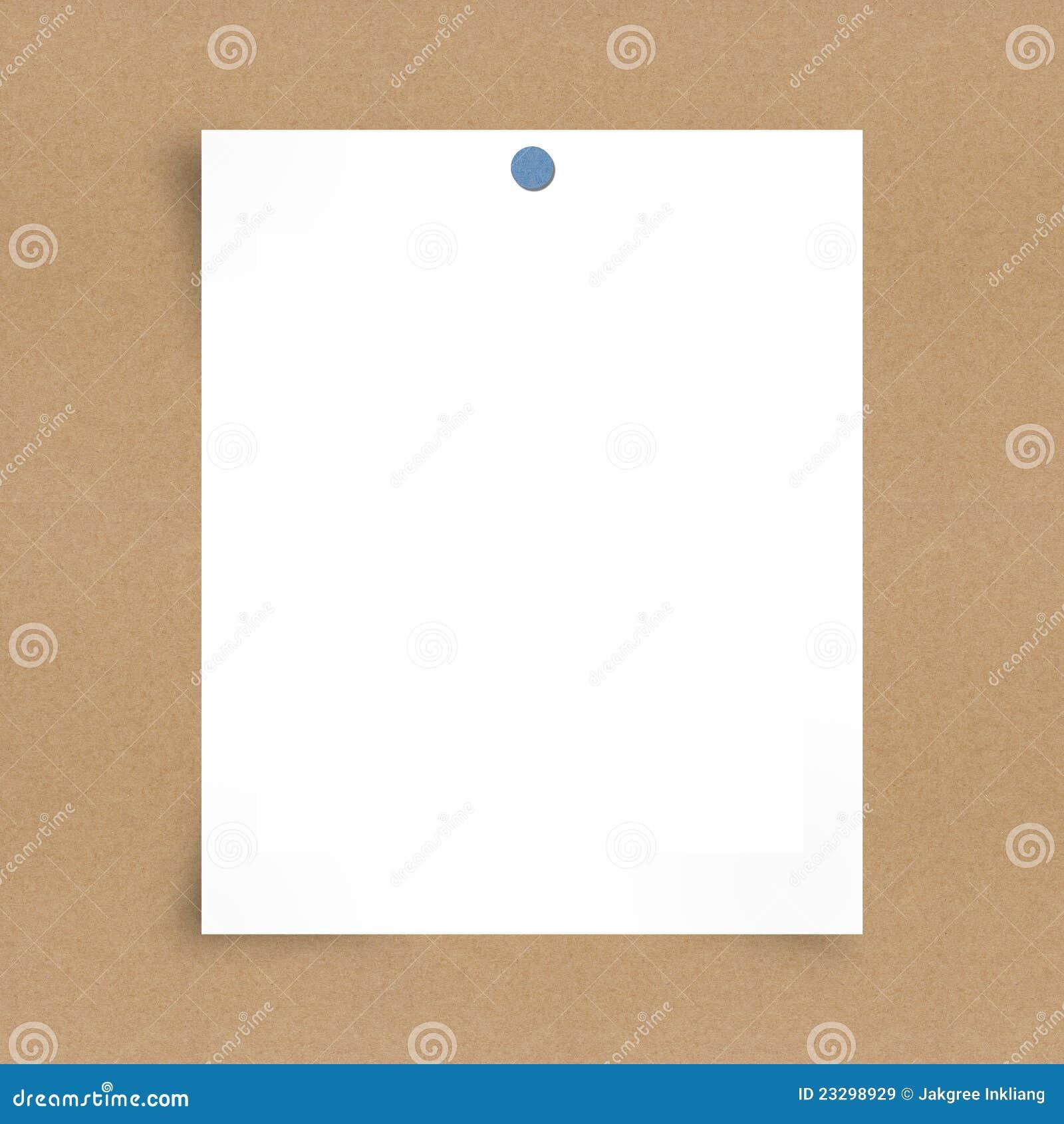 бумага примечания доски предпосылки пустая