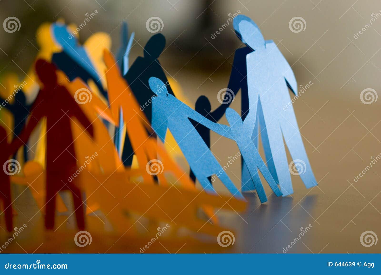 Download бумага семьи стоковое изображение. изображение насчитывающей ассоциации - 644639