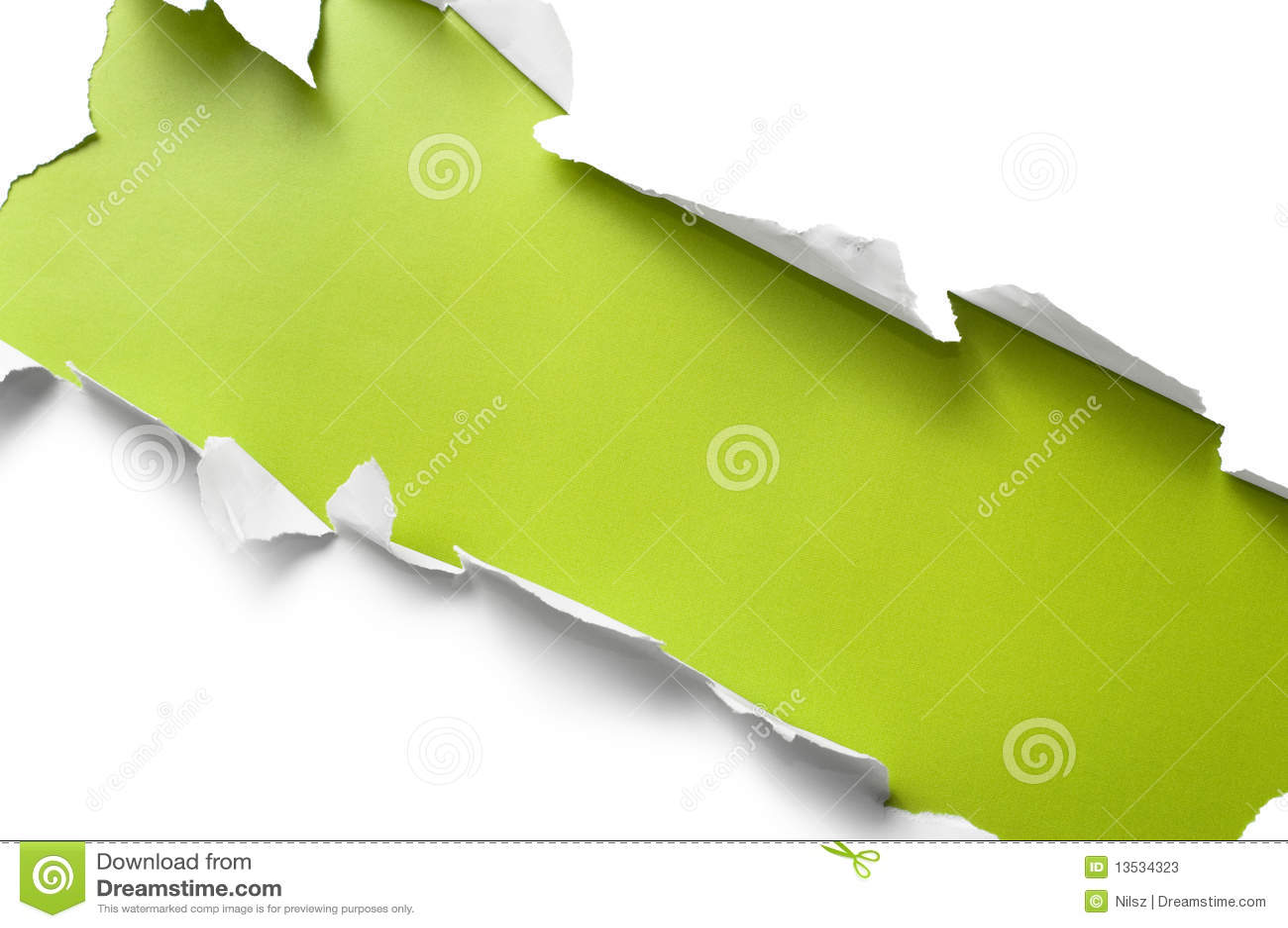 бумажная сорванная нашивка