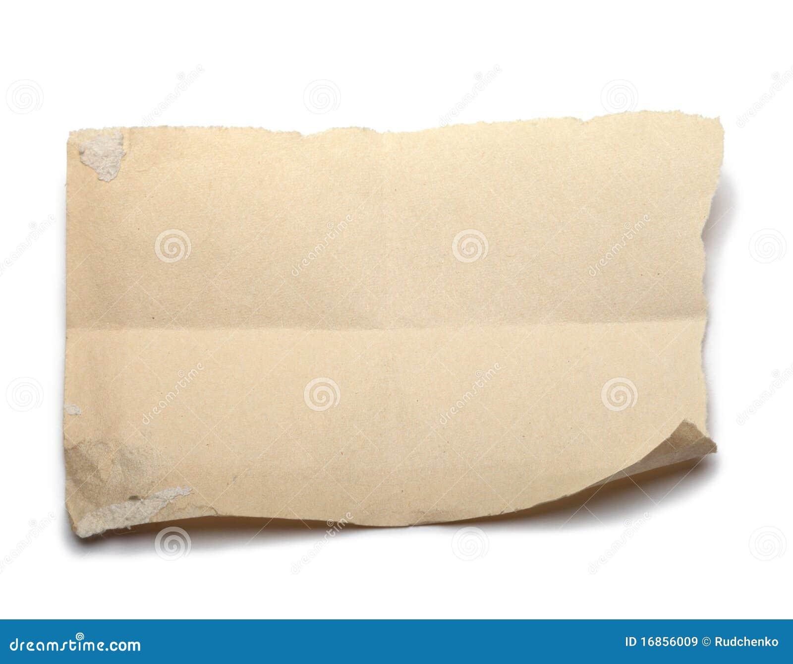 бумажная часть