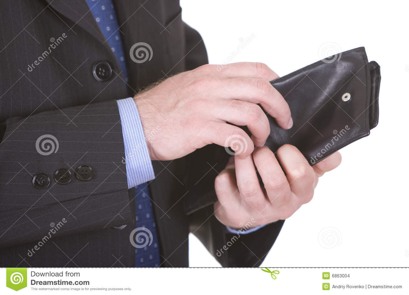 бумажник бизнесмена