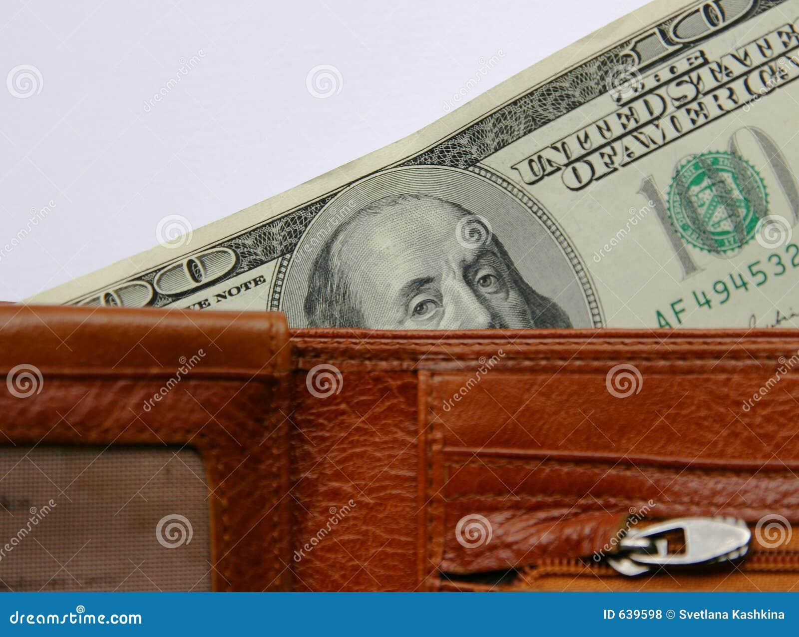 Download бумажник визирования стоковое фото. изображение насчитывающей от - 639598