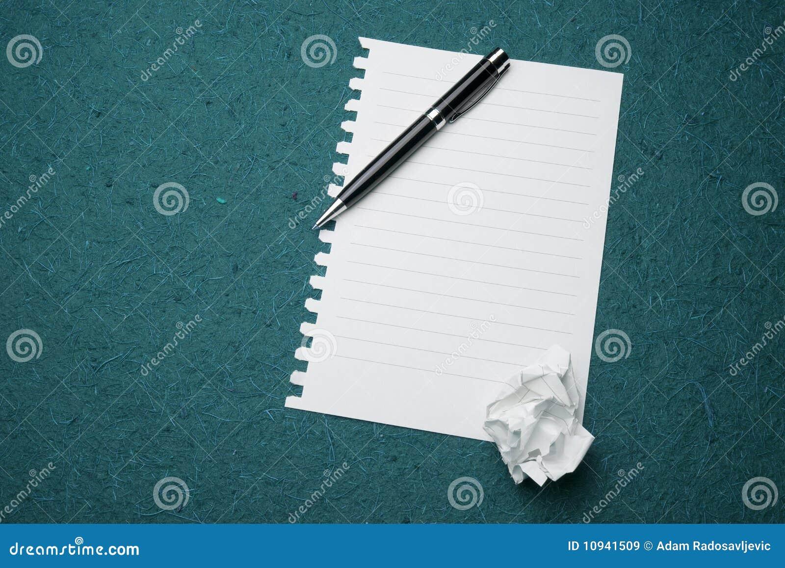 бумажное готовое белое сочинительство