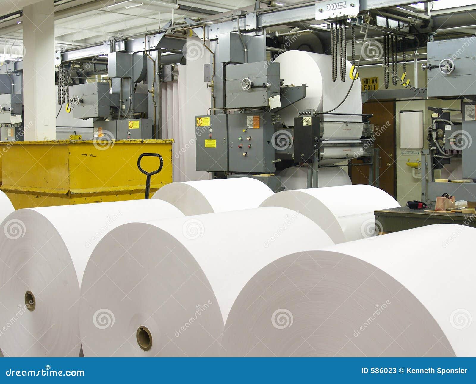 бумажное давление