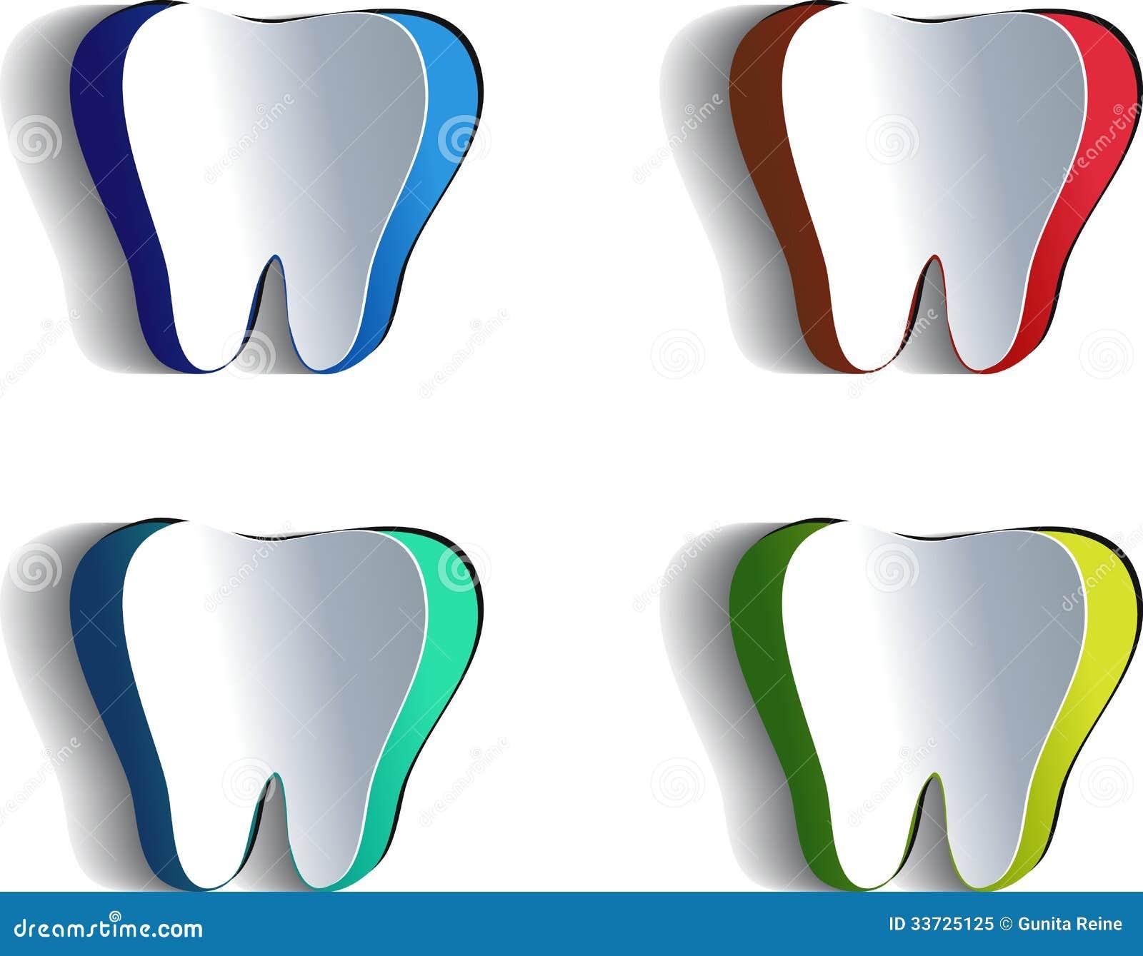 Бумажный зуб
