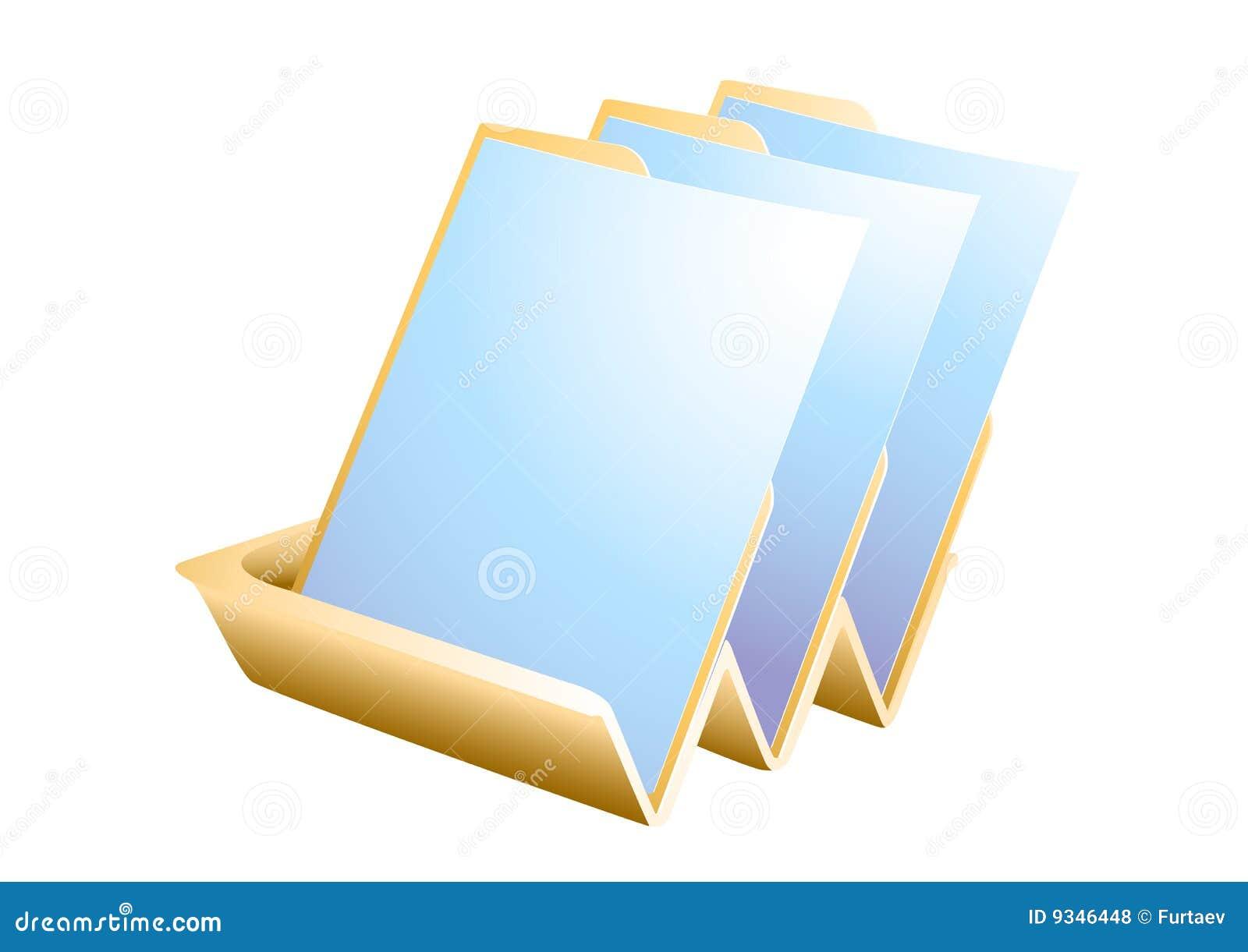 бумажный поднос