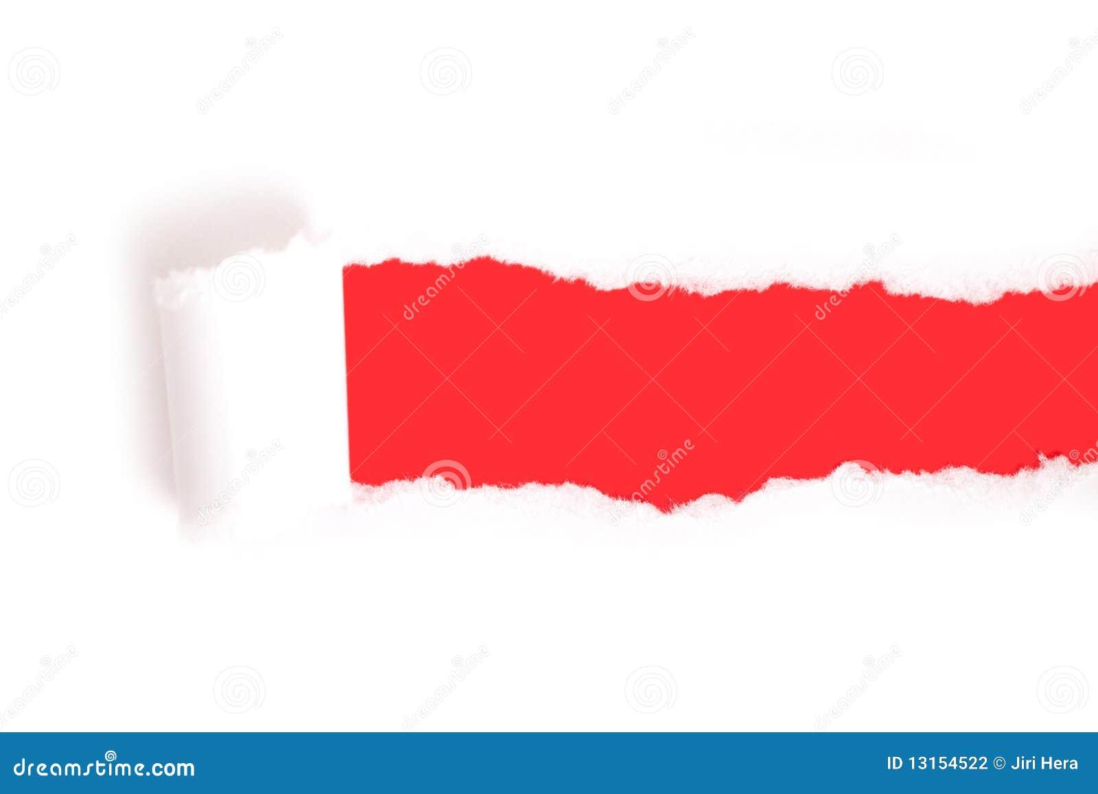 бумажный разрыв