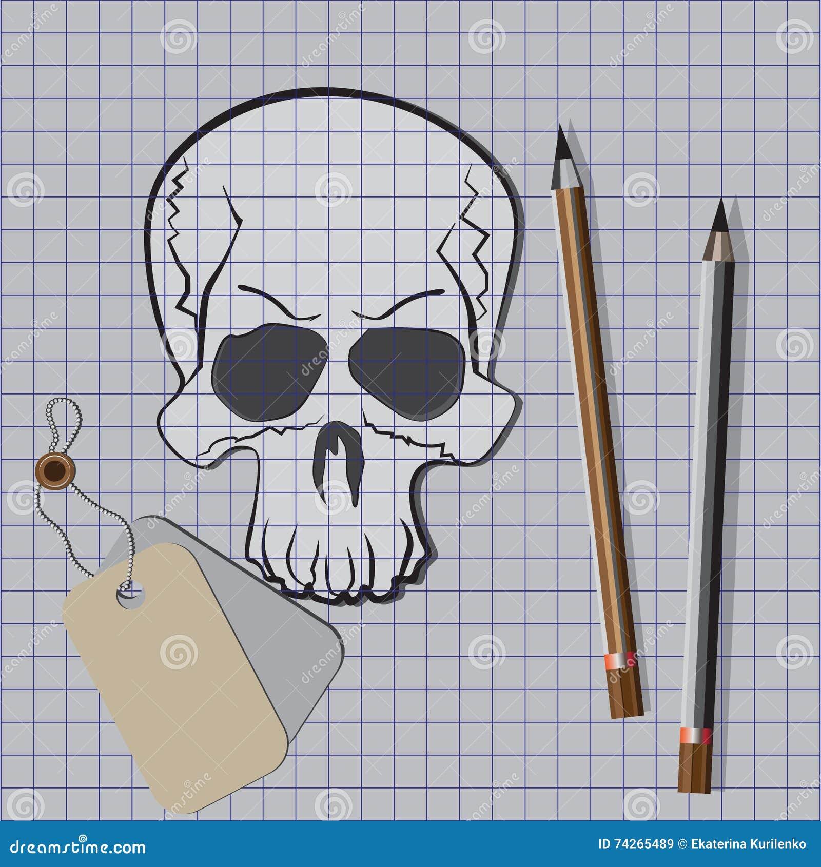 школе картинки с черепом в тетрадь нашем интернет-магазине есть