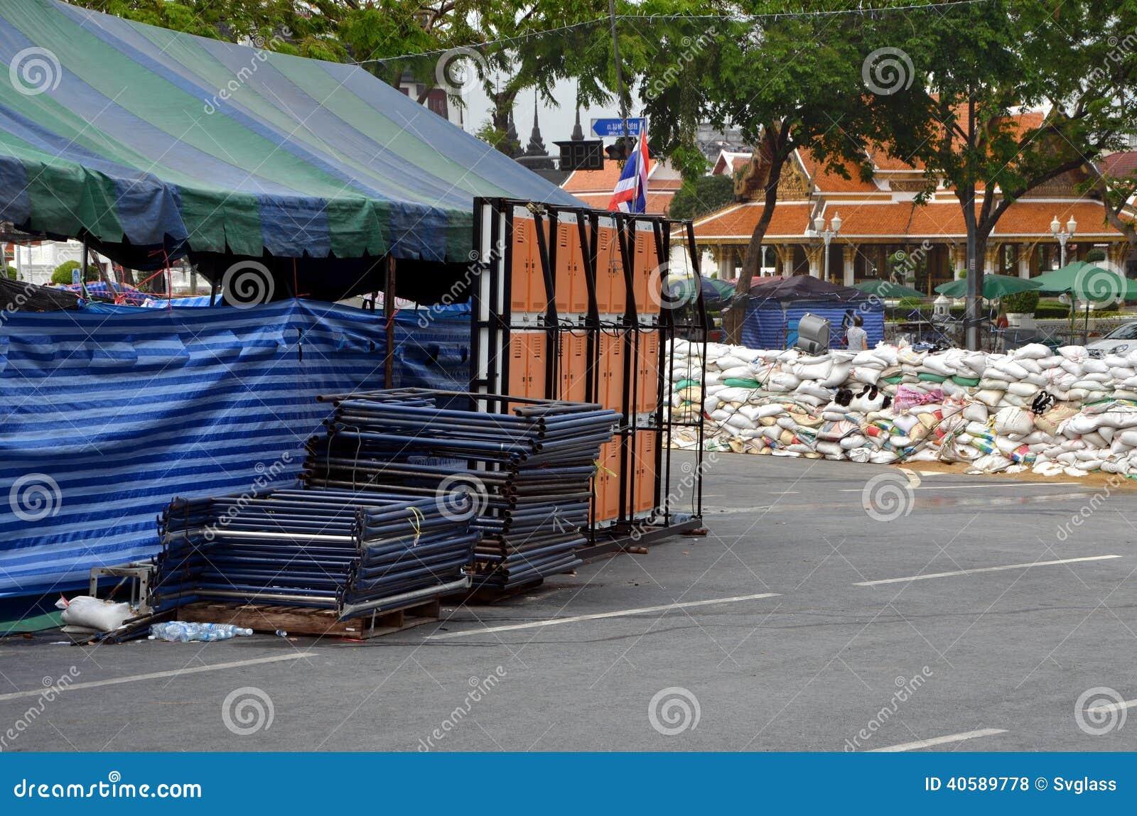 Бунты в Бангкоке в 2014