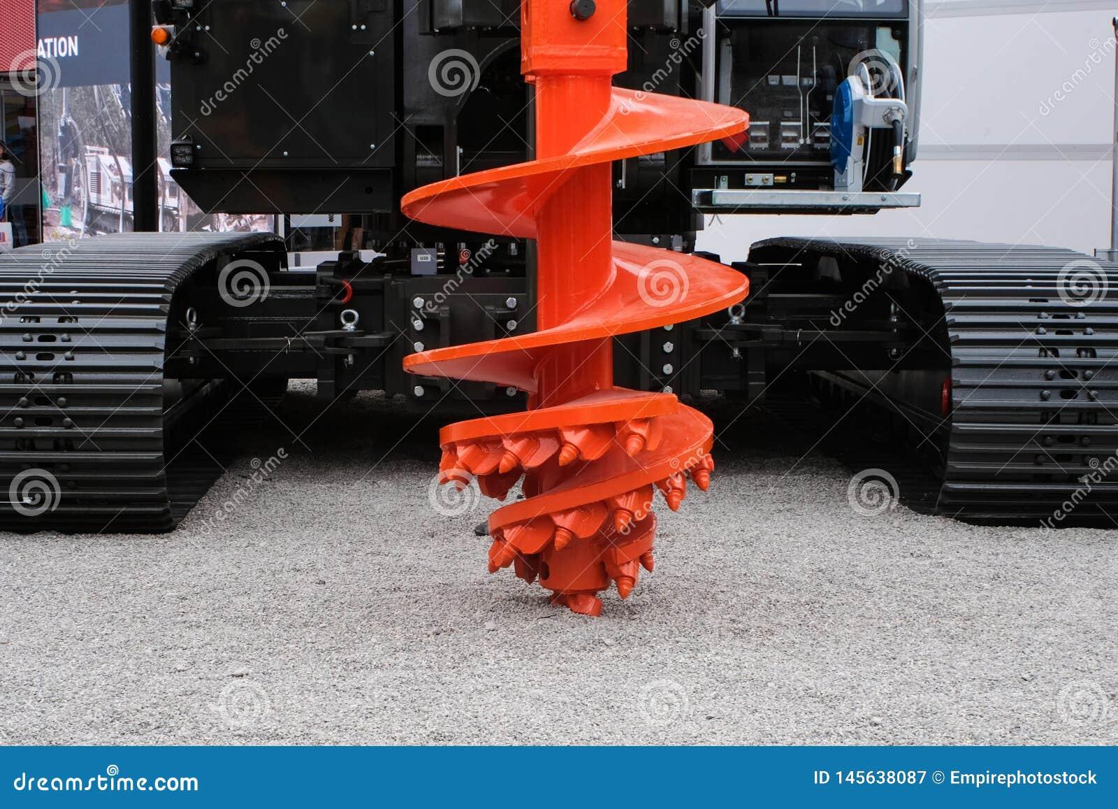Буровое оборудование сверла утеса для строительной промышленности, складывающ машинное оборудование, складывая снаряжение
