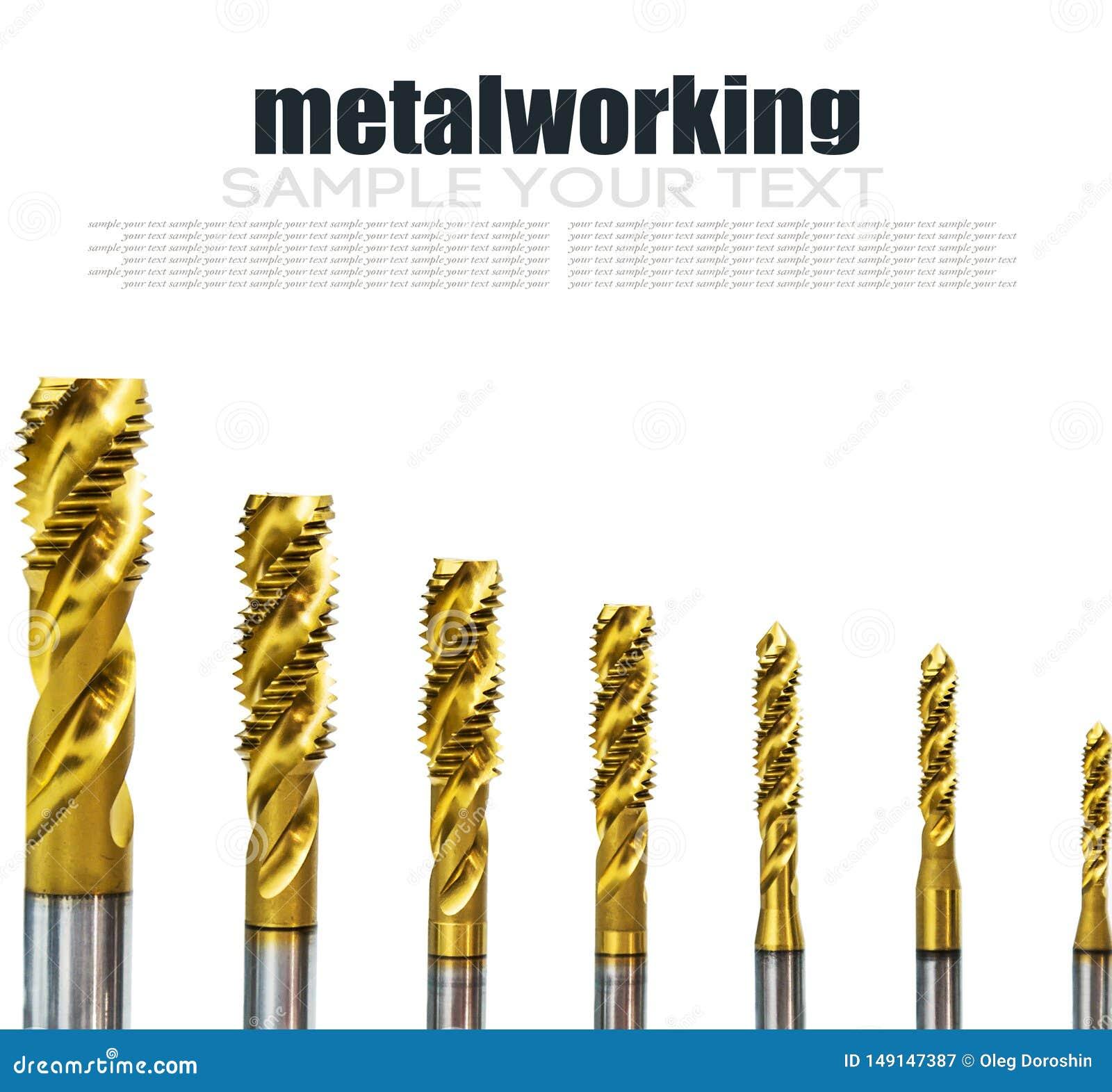 Буровые наконечники в различных размерах на отказе бурового наконечника для механической обработки
