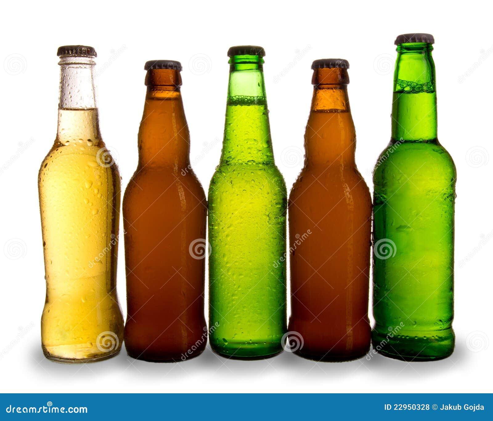 бутылки пив