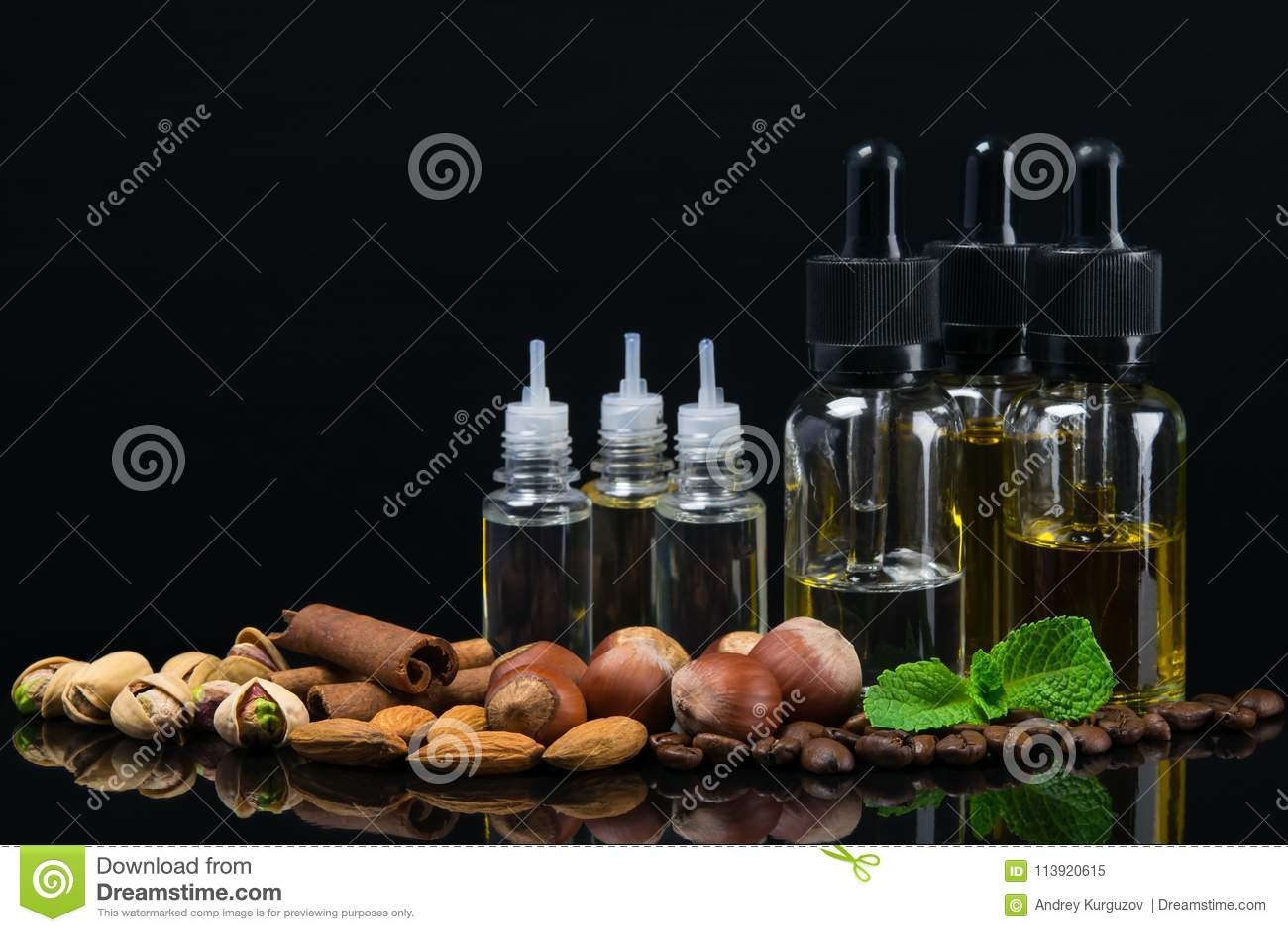 Бутылки с жидкостями вкусов чокнутых для сигареты e