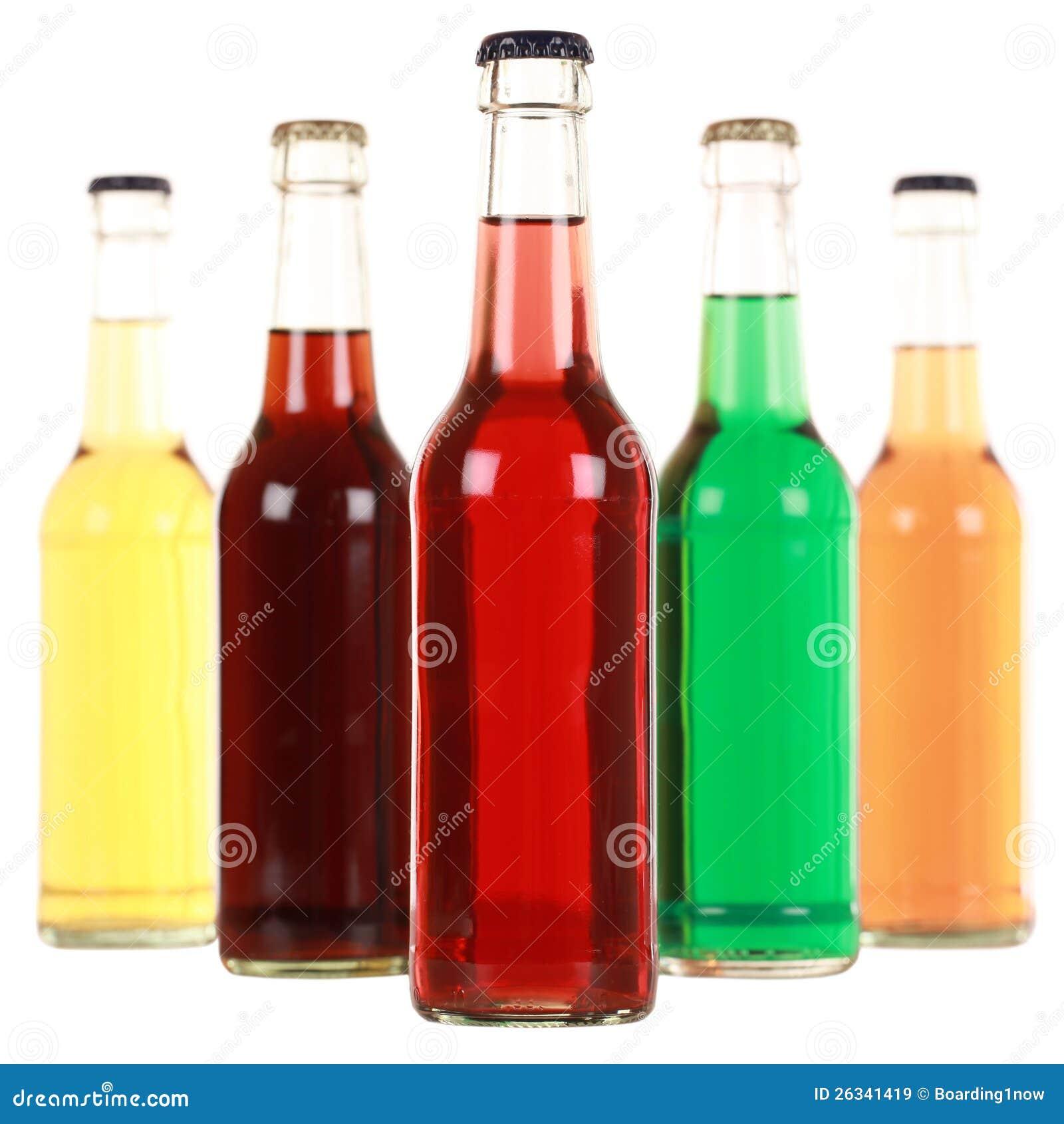 Бутылки с содой