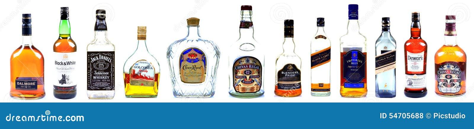 Бутылки вискиа