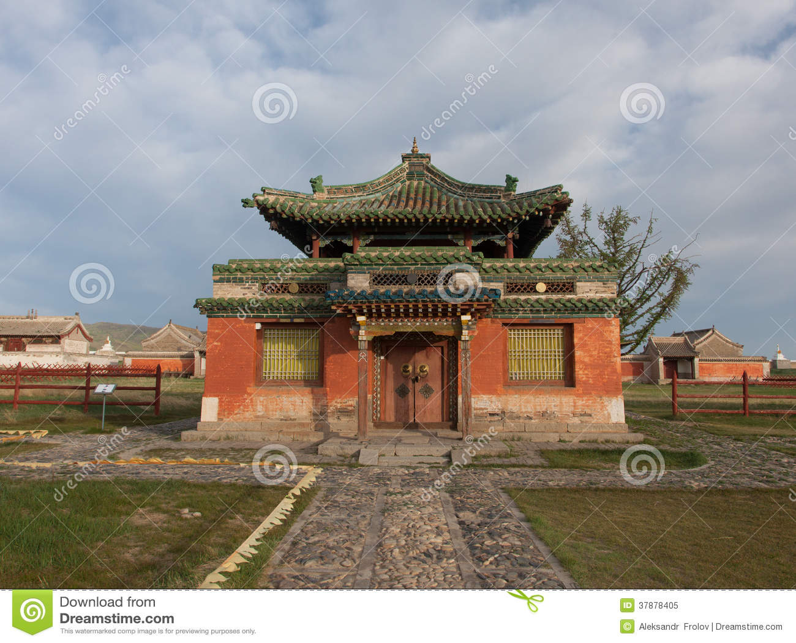 Буддийский монастырь Erdene Zu
