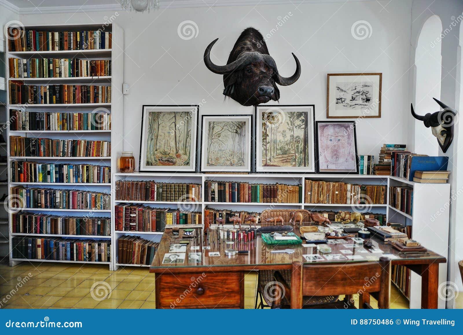 Бывший дом Эрнест Хемингуэй в Кубе