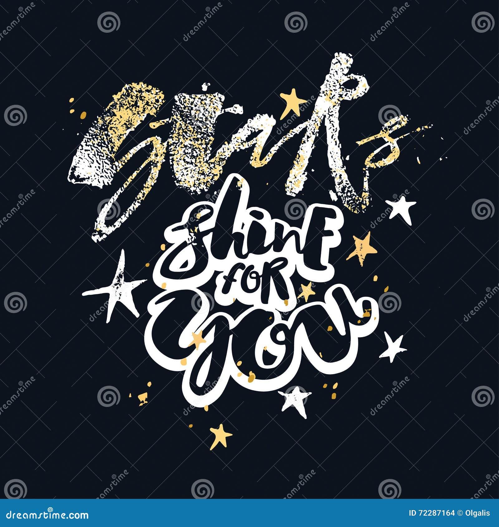 Download Блеск звезд для вас плакат мотивировки влюбленности Иллюстрация вектора - иллюстрации насчитывающей doodle, badged: 72287164