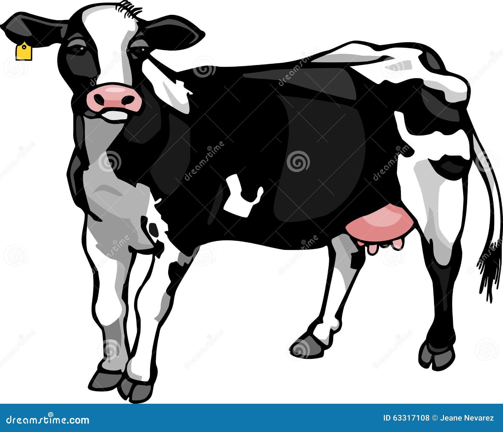 близкая головка s молокозавода коровы вверх