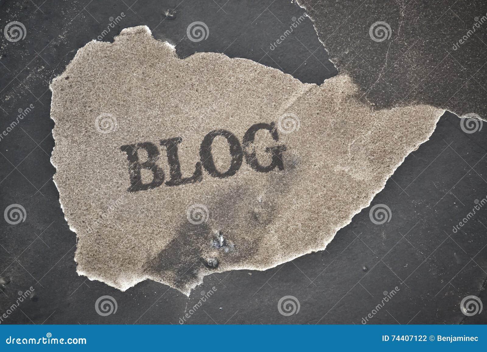 Блог отдельного слова